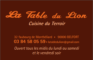 La Table du Lion